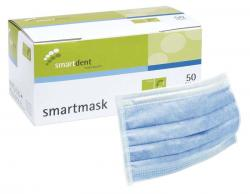 smartmask Mundschutz Packung 50 Stück blau