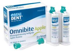 Omnibite Apple Packung 2 x 50 ml Doppelkartusche, 12 Mischkanülen